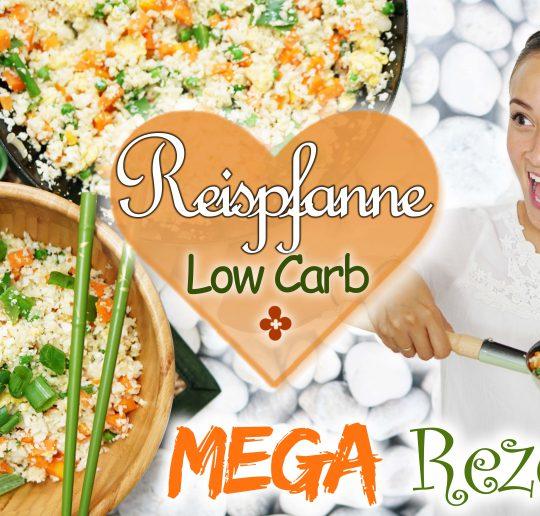 Low-Carb-Rezept Gebratener Reis