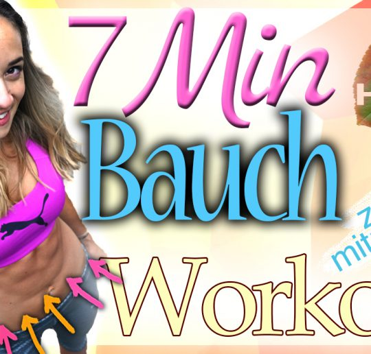 7 Minuten Bauch-Workout