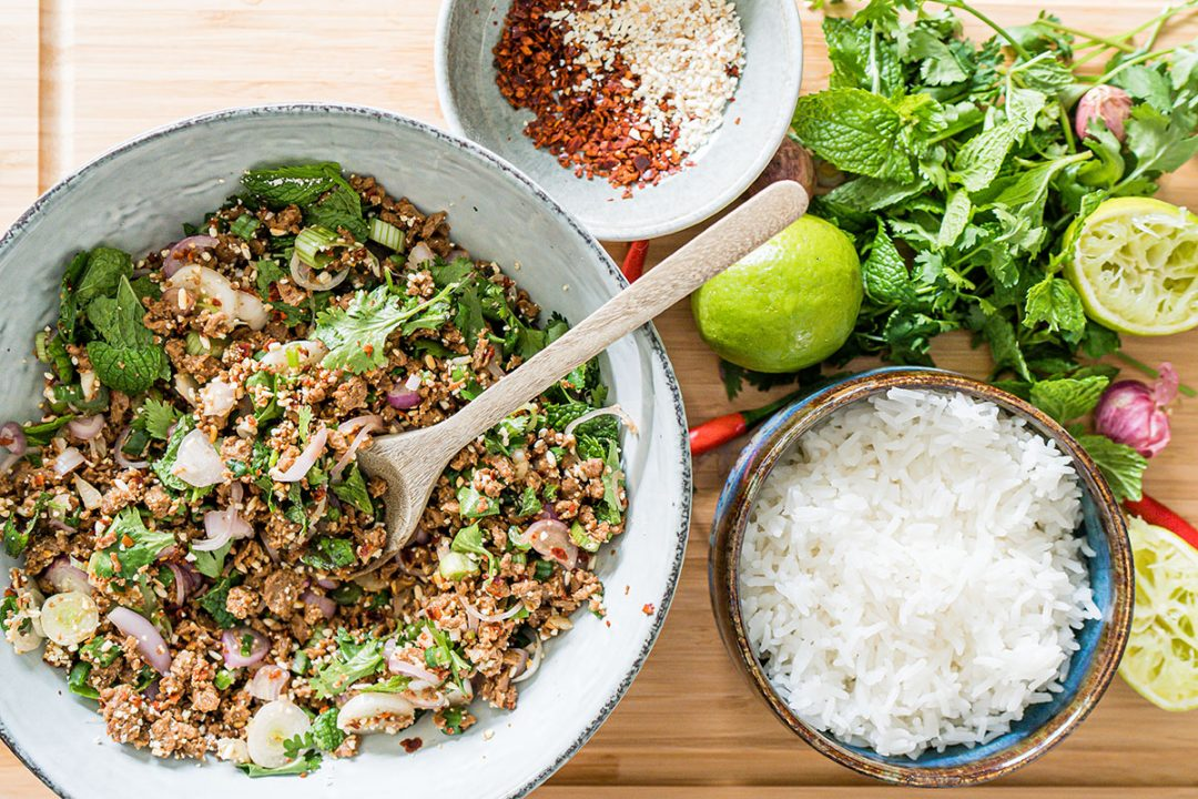 Larb Salat blog